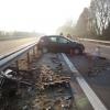 Řidič na dálnici D35 přehlédl vozidlo