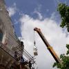 Dokončovací práce na historické budově šumperské radnice dočasně uzavřely hlavní vchod