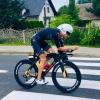Zábřežský triatlonista David Jílek na Polskamanu vybojoval stříbro