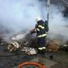 Milionová škoda zůstala po požáru v Litovli