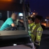 Policisté kontrolovali řidiče autobusů