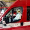 Hasičské autobusy a dodávky se zapojily do repatriačních jízd