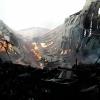 Zábřežští hasiči likvidují požár skladu slámy