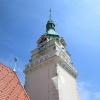 Prázdninové večerní rozhledy z šumperské radniční věže