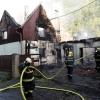 Čtyři jednotky hasičů zasahovaly u požáru rodinného domu