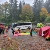 FOTO: Cvičení složek IZS pod Červenohorským sedlem