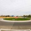 Nový kruhový objezd v Mohelnici