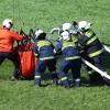 Hašení požárů vrtulníkem v Šumperku III.