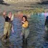 Výlov obecního rybníka v Rapotíně